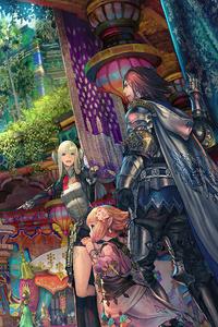320x480 Final Fantasy XIV Endwalker