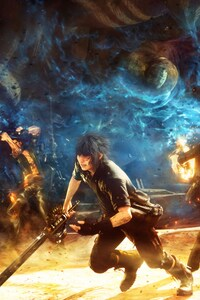 1280x2120 Final Fantasy XV Game Play