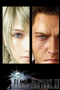 240x320 Final Fantasy XV Game Poster