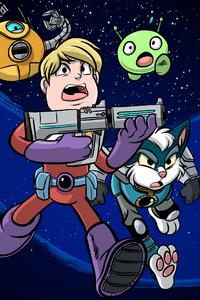 800x1280 Final Space Netflix Tv Series Artwork