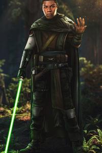 480x854 Finn A Jedi Star Wars 5k