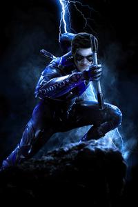 Finn Wittrock Nightwing 4k
