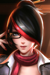 1440x2560 Fiora League Of Legends Fanart