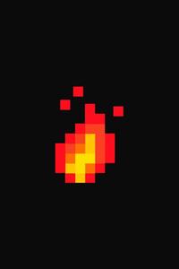 Fire Pixel Art