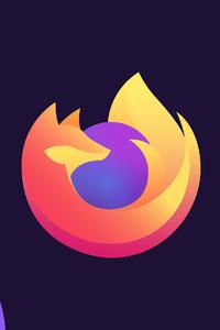 1080x1920 Firefox Minimal 4k
