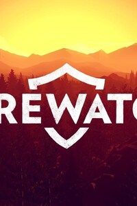 1242x2688 Firewatch Game Logo