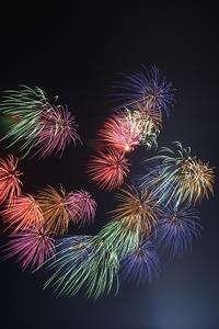 1242x2688 Fireworks 4k 5k