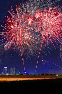 360x640 Fireworks Celebrations 4k