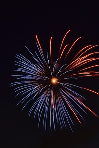 240x320 Fireworks Flare Up