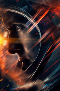 1080x2160 First Man 2018 Movie