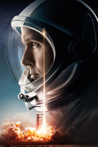 480x800 First Man Movie 2018 12k