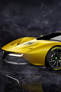 1242x2688 Fittipaldi EF7 Vision Gran Turismo Limited Edition 4k 5k
