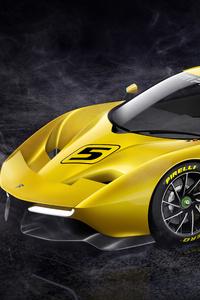 1242x2688 Fittipaldi EF7 Vision Gran Turismo Limited Edition 5k