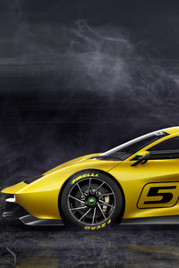 1440x2560 Fittipaldi EF7 Vision Gran Turismo Limited Edition Side View