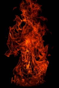 1080x2280 Flame 5k