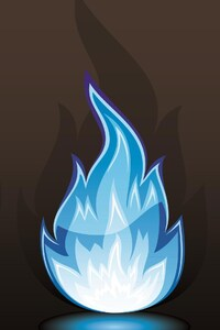 480x854 Flames Art