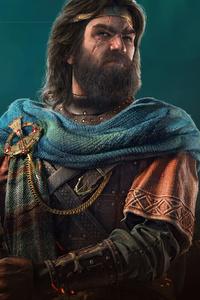 640x1136 Flann Sinna Assassins Creed Valhalla 5k