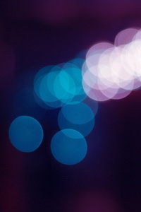 750x1334 Flare Light Abstract 5k