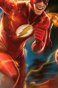 Flash And Kid Flash 4k