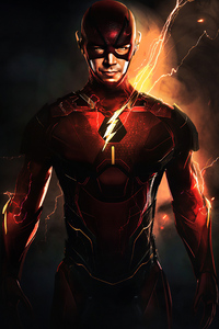 2160x3840 Flash Barry Allen 4k