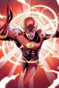 1440x2560 Flash Comic Book Poster 4k