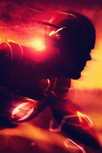 Flash DC Comics Artwork