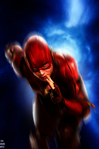 1080x2160 Flash Fastest Man Alive