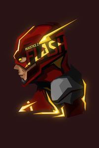 Flash Glowing Minimal 8k