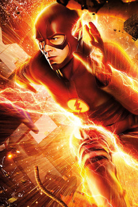 Flash Grant Gustin