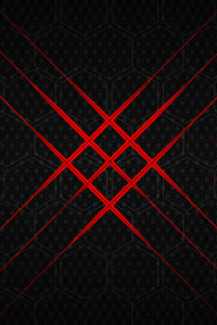 2160x3840 Flash Hexagon Abstract 10k