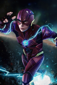 750x1334 Flash Justice League Syndercut
