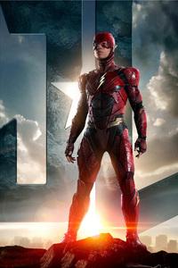 1280x2120 Flash Justice League Unite 2017