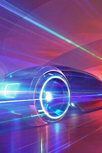 1440x2560 Flash Light Car