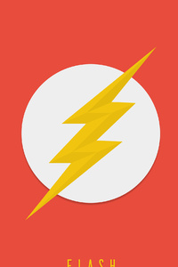2160x3840 Flash Logo 4k