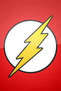320x568 Flash Logo Minimal 4k
