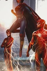 2160x3840 Flash Movie Concept Art