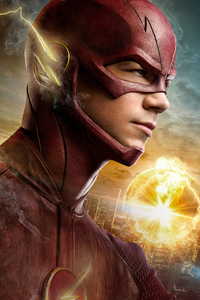 640x960 Flash Tv Series 4k