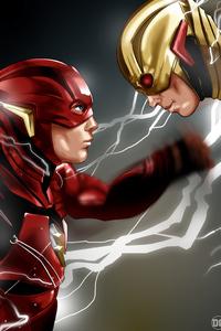 Flash Vs Reverse Flash 4k