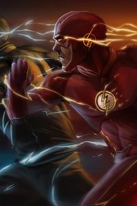 Flash Vs Zoom Art 5k