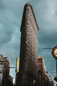 1280x2120 Flatiron Building New York 5k