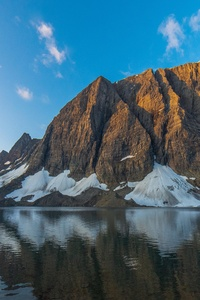 540x960 Floe Lake At Sunrise British Columbia 5k