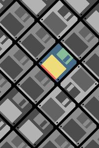 Floppy Disk Minimalist