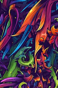 Flora Texture 4k