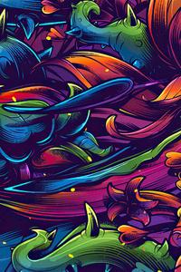 2160x3840 Flora Texture