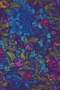 Floral Pattern Abstract