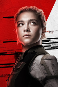 240x320 Florence Pugh As Yelena Belova In Black Widow 2020