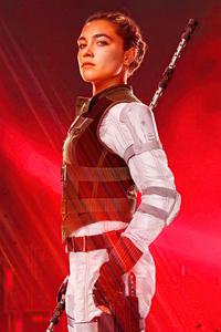 Florence Pugh As Yelena Belova In Black Widow Movie 5k