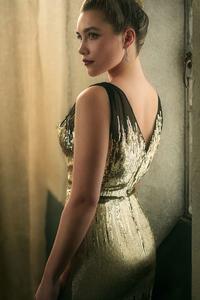 Florence Pugh Vanity Fair Oscar Portrait