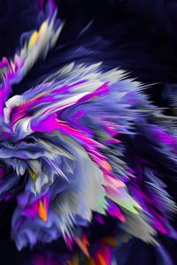 1080x1920 Flower Birth Abstract 8k