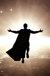 320x568 Fly Son Its Time Superman